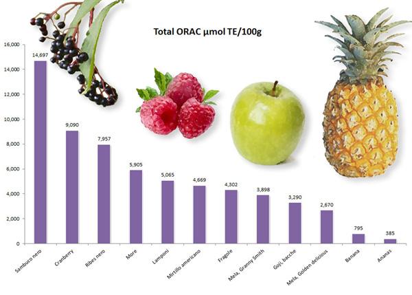 ORAC frutti selvatici