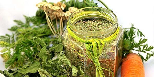 Dado vegetale granulare DIY