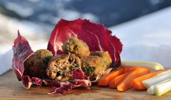 Narrowleaf Plantain Meatballs