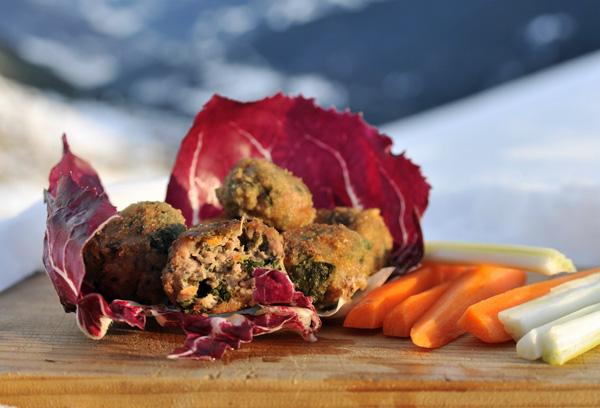 plantain meatballs, Ribwort Plantain recipe