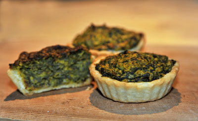 PUMPKIN & GOOD KING HENRY TARTLETS