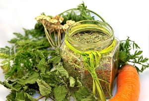 Garden leftovers: healthy vegetable broth powder, tasty and with no additives!